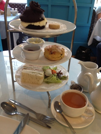 Tea at Willow Tea Rooms in Glasgow