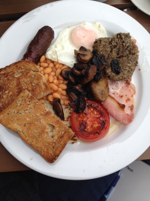 A full Scottish breakfast